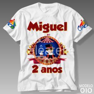 Camiseta Circo 010