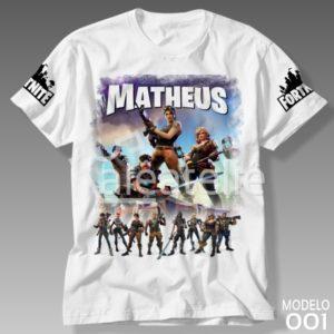 Camiseta Fortnite 001