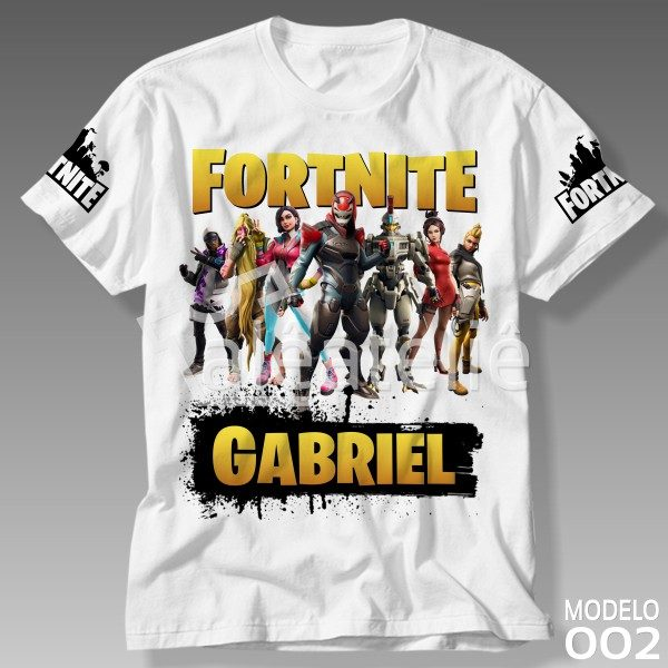 Camiseta Fortnite Personalizada