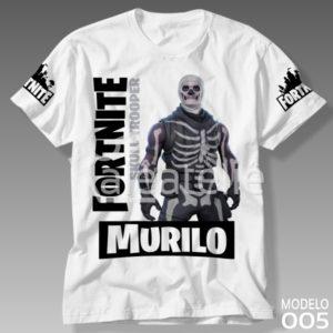 Camiseta Fortnite Skull Trooper