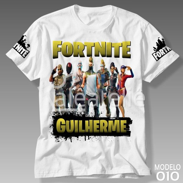 Camiseta Game Fortnite