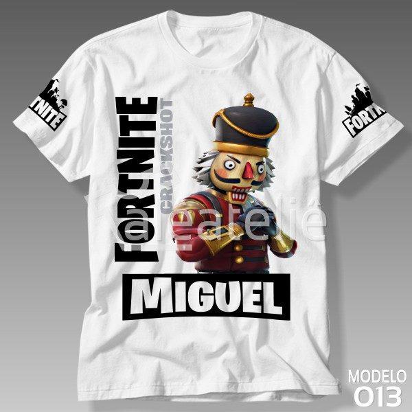 Camiseta Fortnite Crackshot