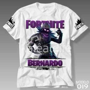 Camiseta Fortnite Raven