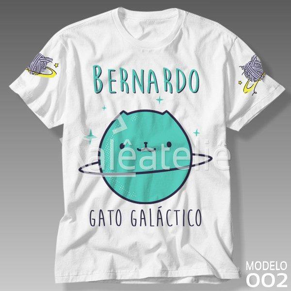 Camisa Gato Galáctico