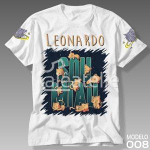 Camiseta Gato Galáctico 008