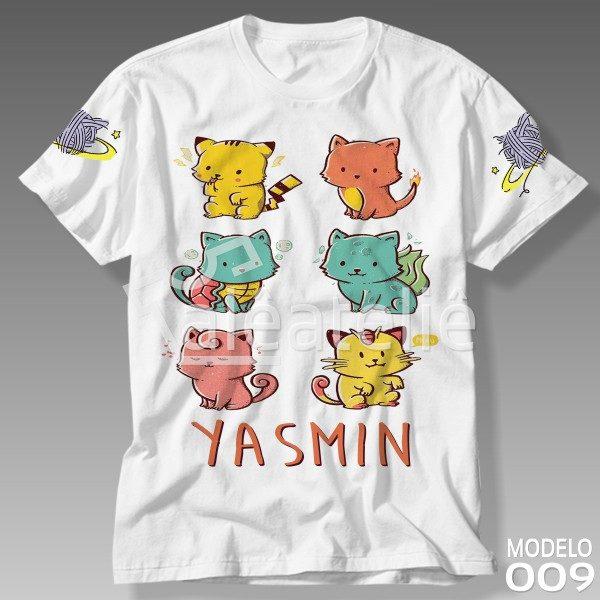 Camiseta Gato Galáctico Gatinhos