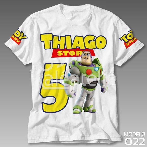 Camiseta Toy Story Buzz Lightyear