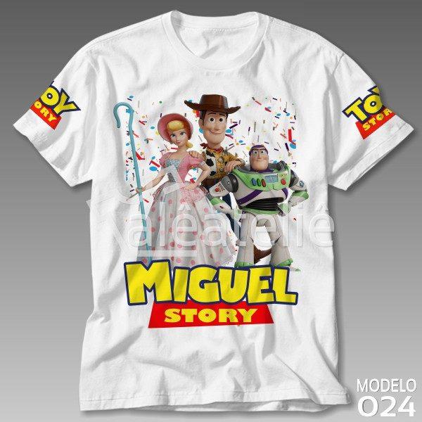 Camiseta Toy Story Betty Woody Buzz