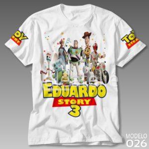 Camiseta Toy Story 4 Infantil