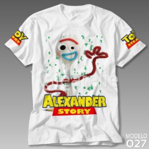 Camiseta Toy Story Garfinho