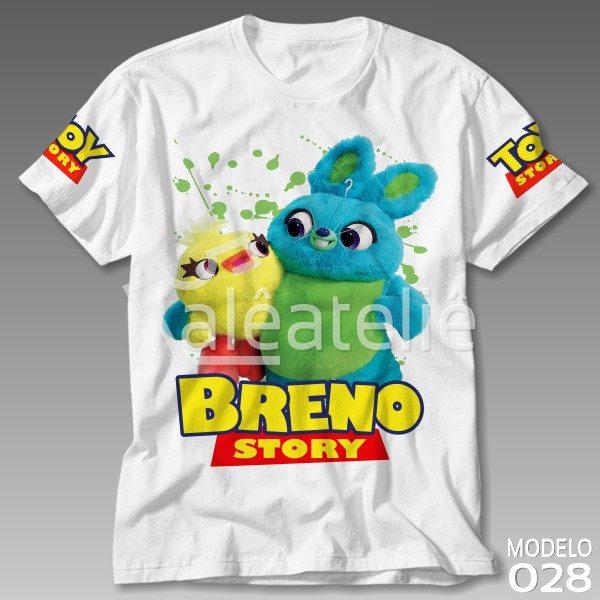 Camiseta Toy Story Pelúcias