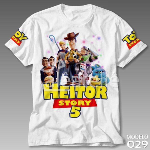 Camiseta Toy Story 4 Festa