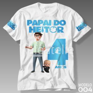 Camiseta Poderoso Chefinho Papai