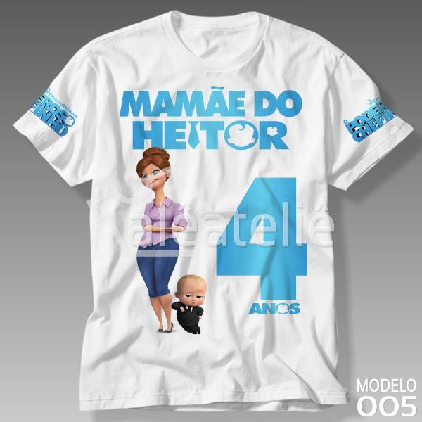 Camiseta Poderoso Chefinho Mamãe