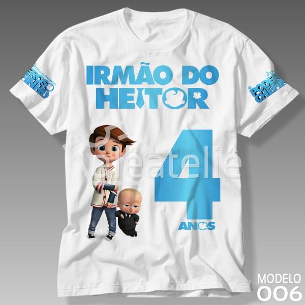 Camiseta Poderoso Chefinho Irmão