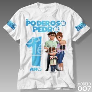 Camiseta Poderoso Chefinho 007