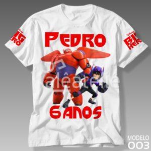 Camiseta Big Hero Festa