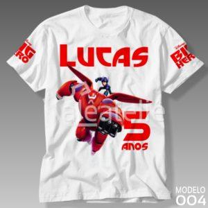 Camiseta Big Hero Baymax
