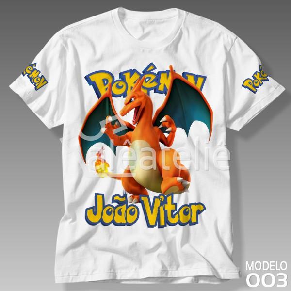 Camiseta Pokemon Cherizard