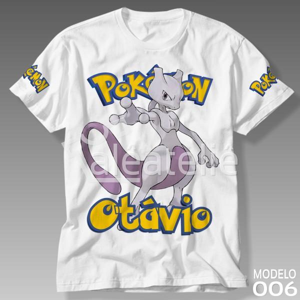 Camiseta Pokemon Mewtwo