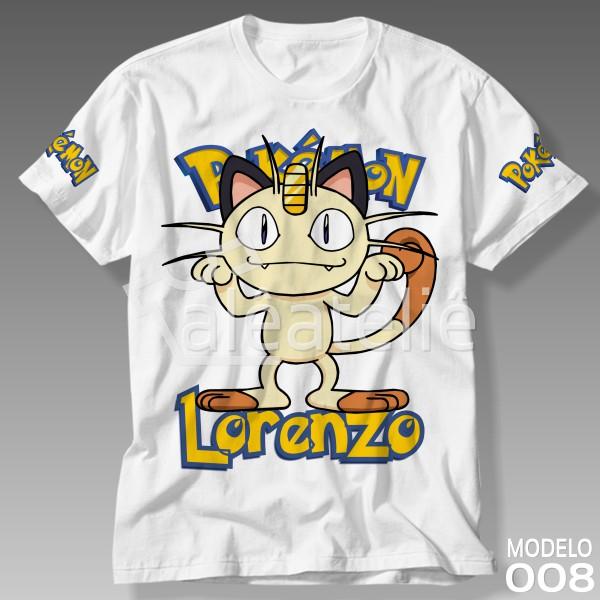Camiseta Pokemon Meowth