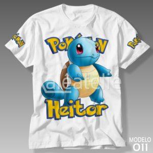 Camiseta Pokemon Squirtle