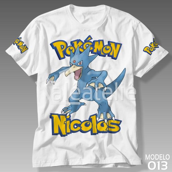 Camiseta Pokemon Golduck
