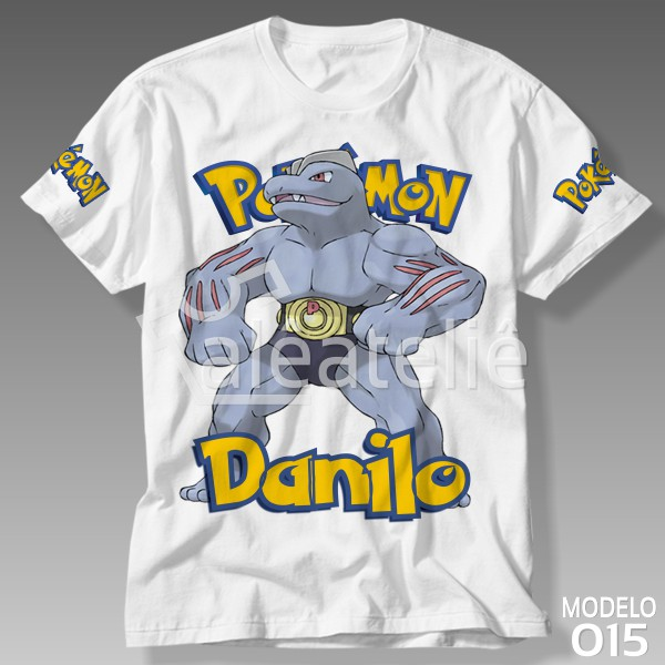 Camiseta Pokemon Machoke