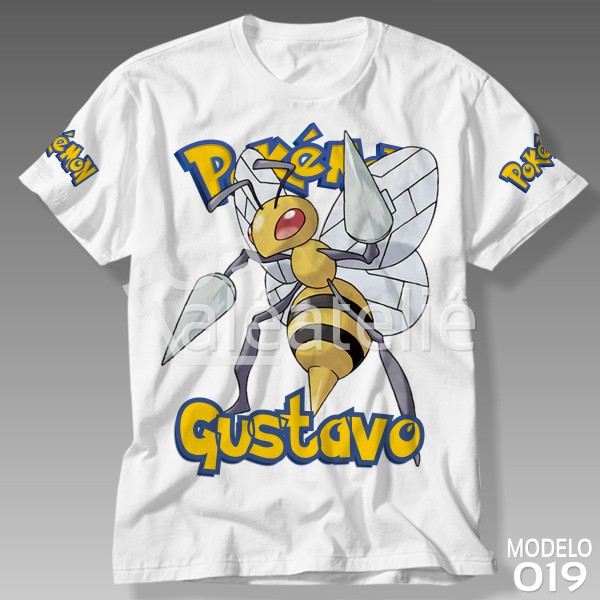 Camiseta Pokemon Beedrill