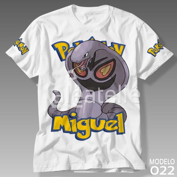 Camiseta Pokemon Arbok