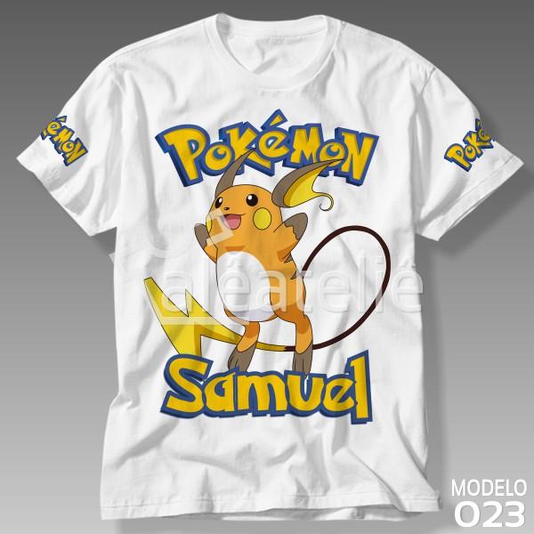 Camiseta Pokemon Raichu