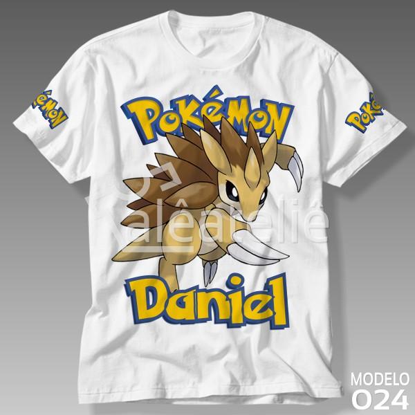 Camiseta Pokemon Sandslash
