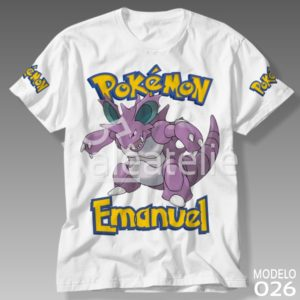 Camiseta Pokemon Nidoking