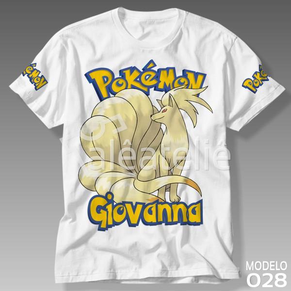 Camiseta Pokemon Ninetales