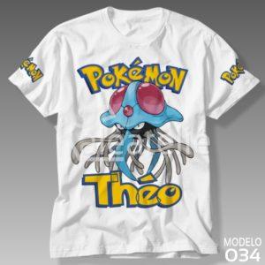 Camiseta Pokemon 034