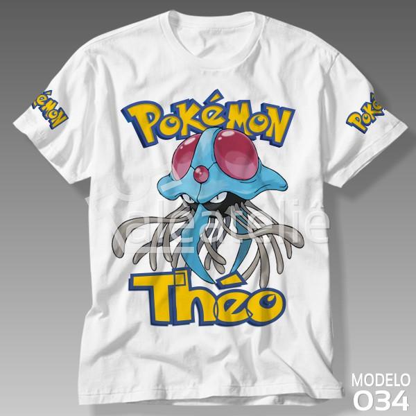 Camiseta Pokemon Tentacruel
