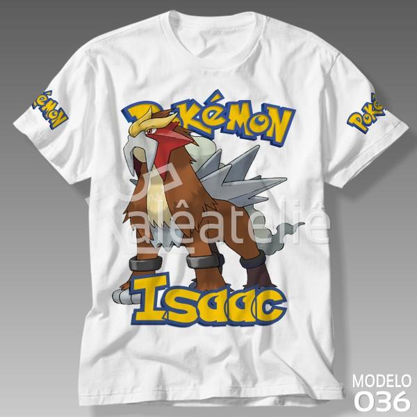 Camiseta Pokemon Entei