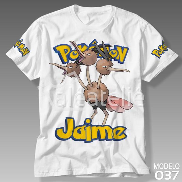 Camiseta Pokemon Dodrio