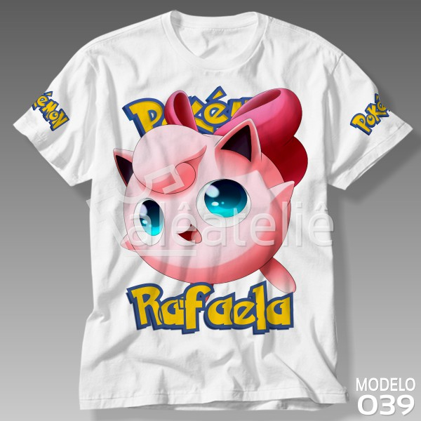 Camiseta Pokemon Jigglypuff