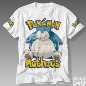 Camiseta Pokemon 040