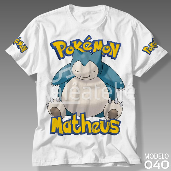 Camiseta Pokemon Snorlax