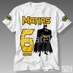 Camiseta Batman 007