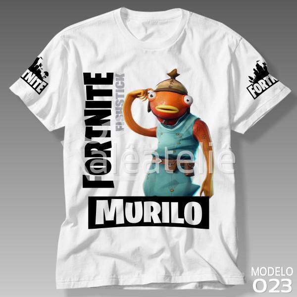 Camiseta Fortnite Peixoto