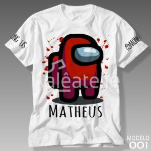 Camiseta Among Us 001
