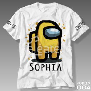 Camiseta Among Us 004