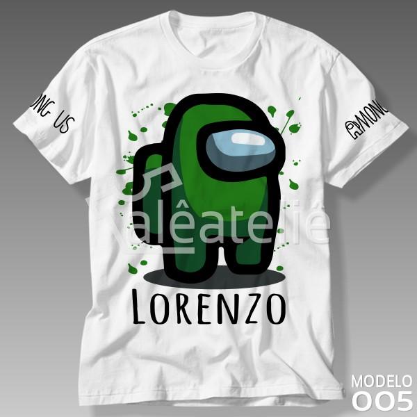Camiseta Among Us Verde