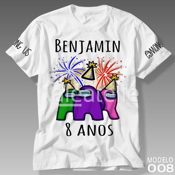 Camiseta Among Us Festa