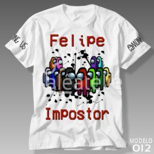 Camiseta Among Us 012