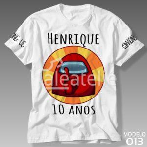 Camiseta Among Us 013