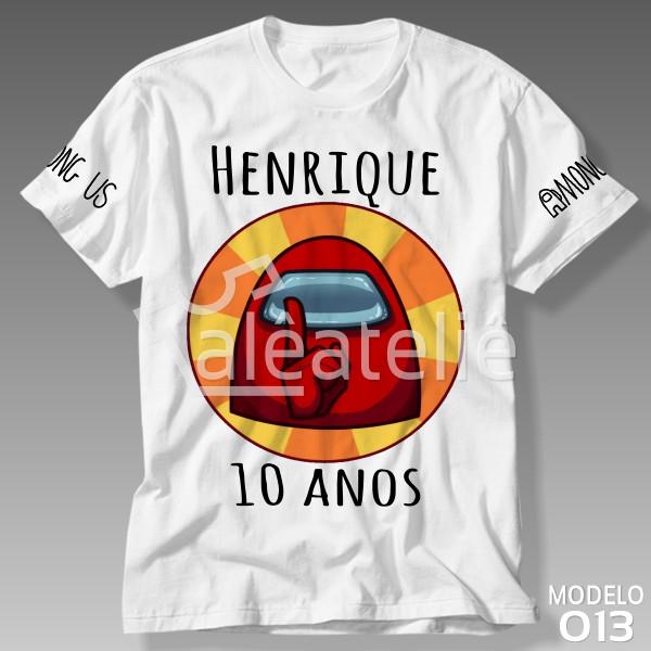 Camiseta Among Us Aniversario